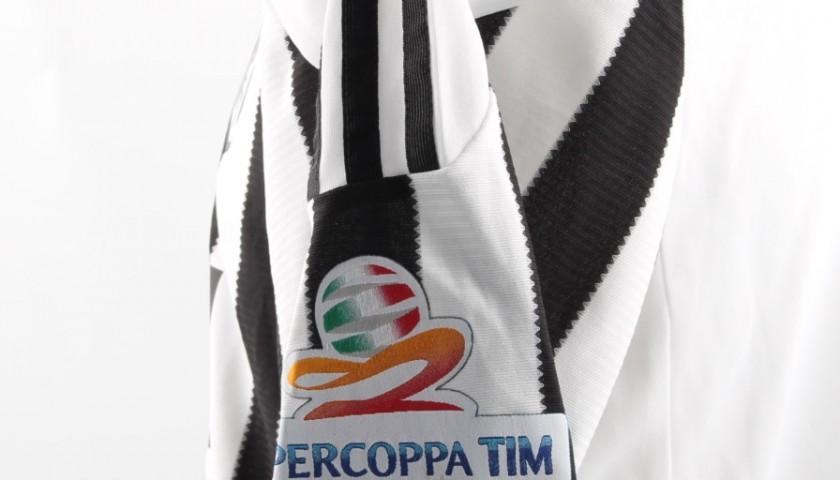 Chiellini shirt, issued Juventus-Lazio Supercoppa Italiana final - signed