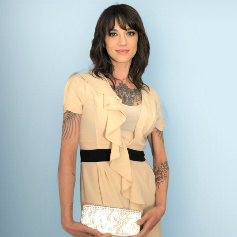 Fendi Dress Worn by Italian Actress Asia Argento