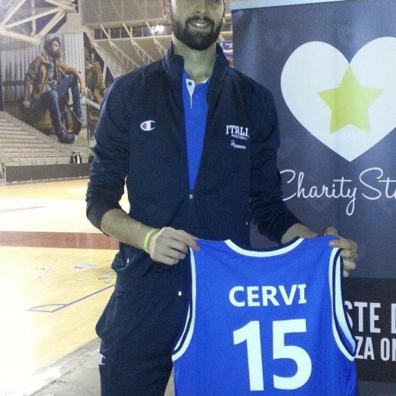 Cervi worn signed shirt - All Star Game BEKO 2014