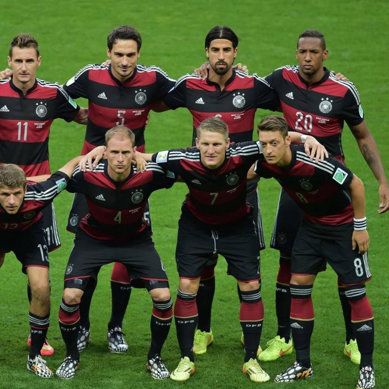 Schweinsteiger's Match-Issue Shirt, Brazil-Germany 2014