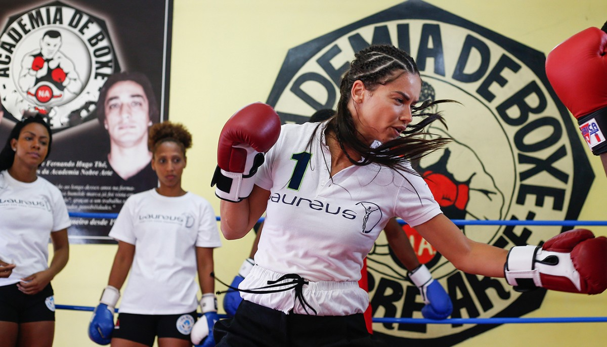 Win a Boxing Class with Adriana Lima in Mexico
