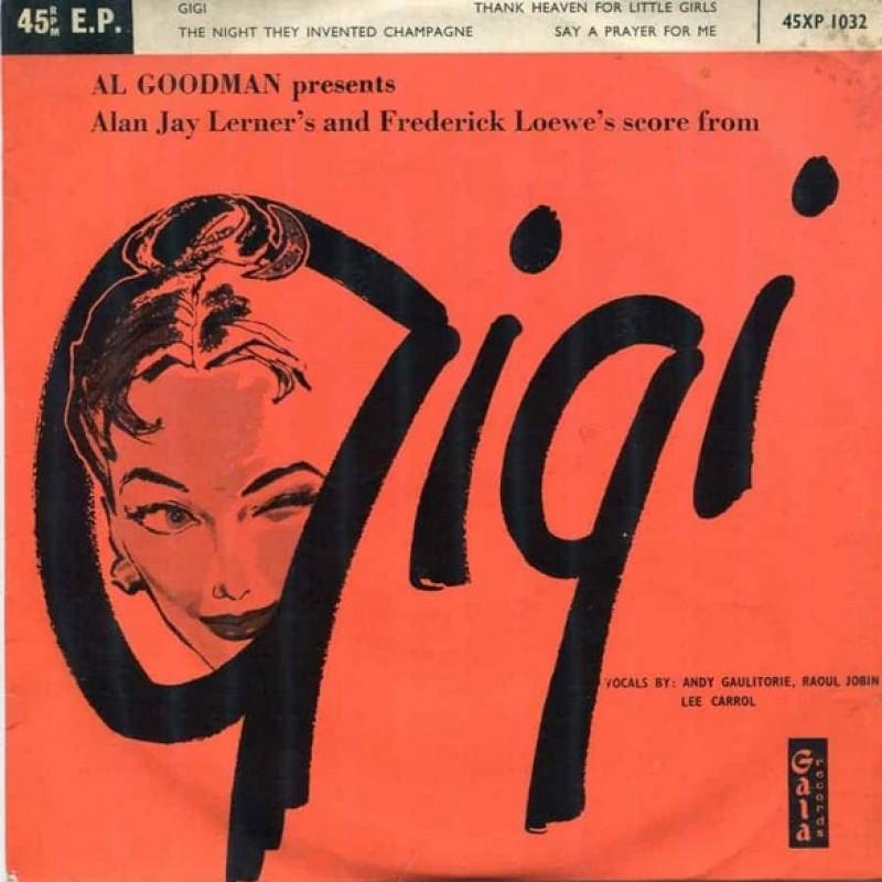 """""""Gigi"""" Vinyl Single - Al Goodman, 1958"""