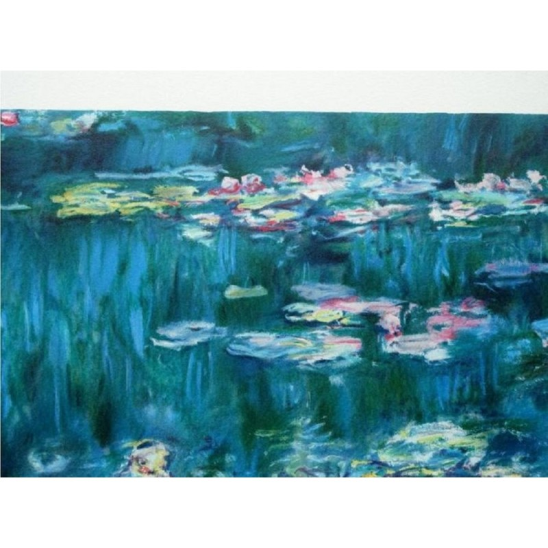 """Ninfee a Giverny"" by Claude Monet"