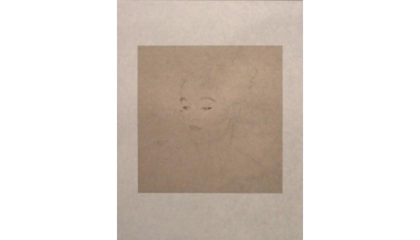 """""""In Sich Gekehrt"""" by Gustav Klimt"""