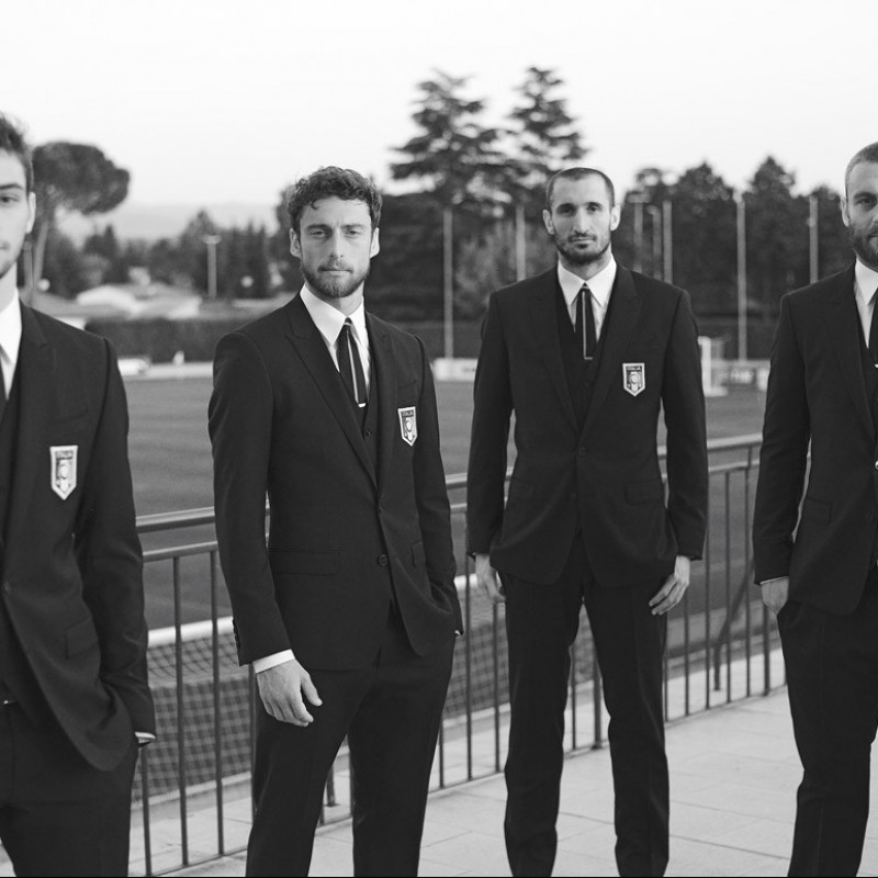 Claudio Marchisio's Dolce & Gabbana Jacket and Waistcoat