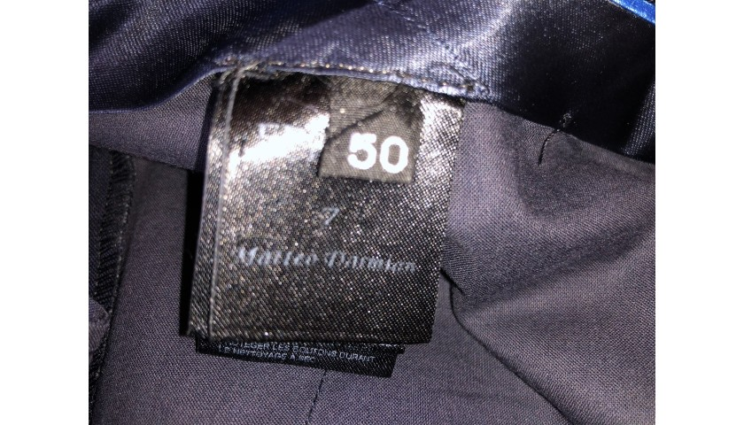 Italy National Football Team Suit Worn by Matteo Darmian