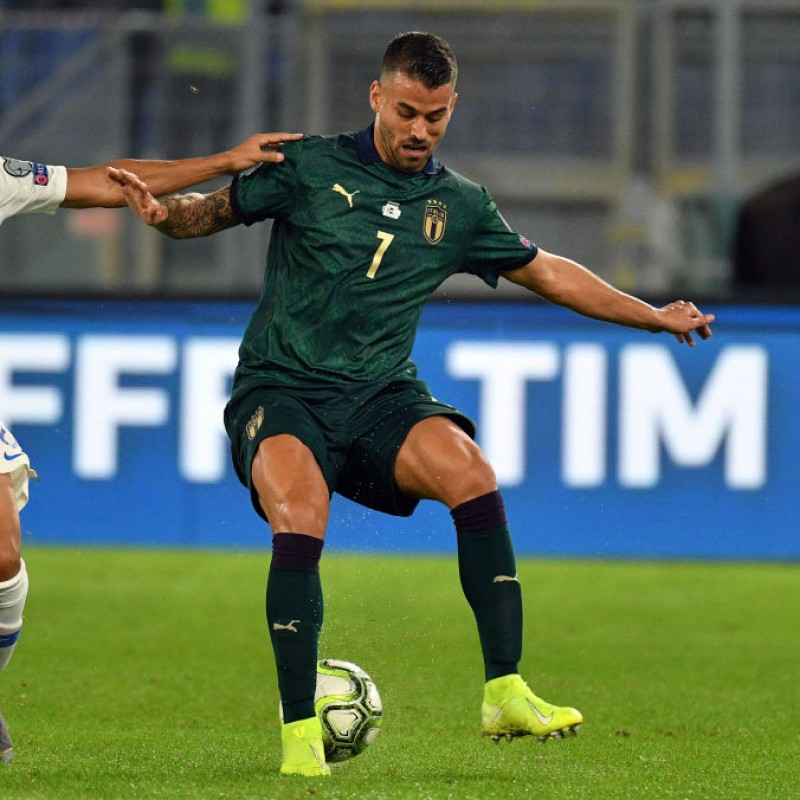 Spinazzola's Match Shirt, Italy-Greece 2019