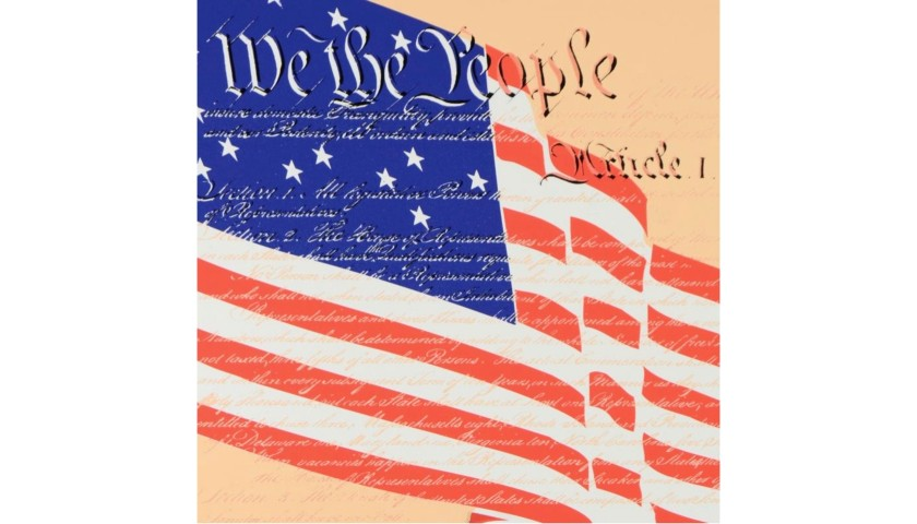 """We the People"" by Steve Kaufman"