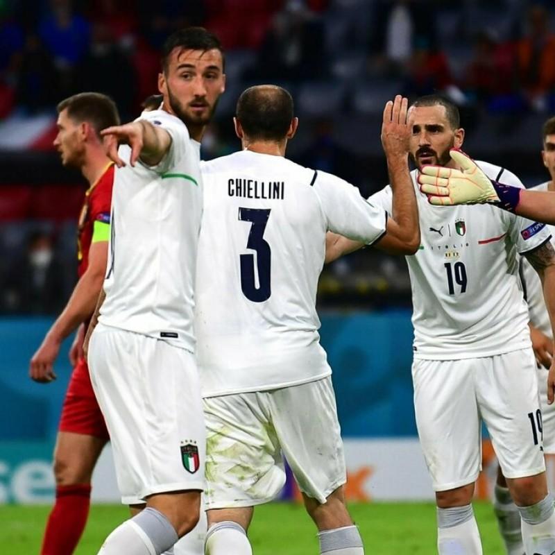 Cristante's Match Shirt, Belgium-Italy 2021