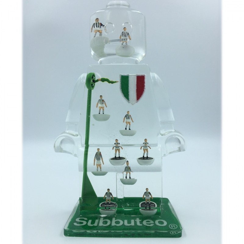 """""""Alter Ego Juventus 114"""" - Sculpture by Alessandro Piano"""