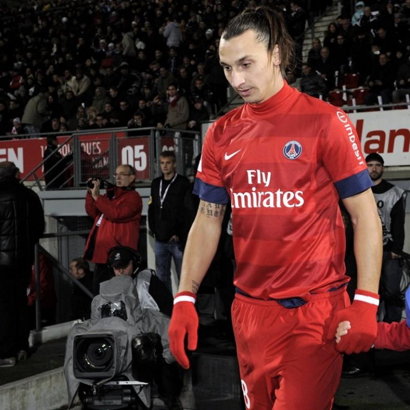 Ibrahimović's PSG Signed Match Shirt, 2012/13