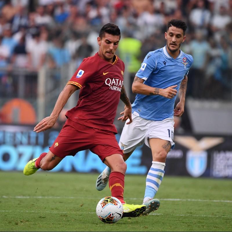 Luis Alberto's Match Shirt, Lazio-Roma 2019 - Special Paideia