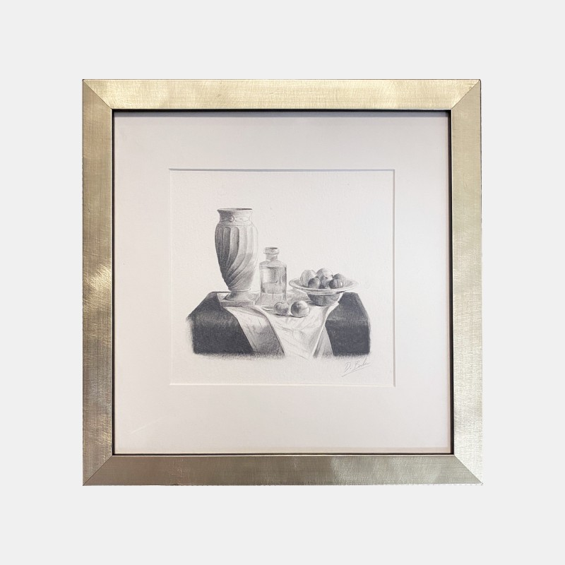 Darren Baker 'Still Life' Sketch