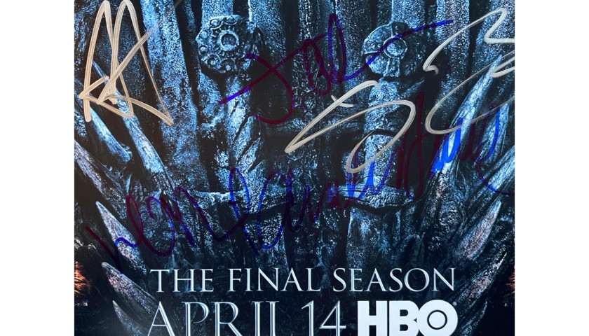 Game of Thrones Signed Window Picture