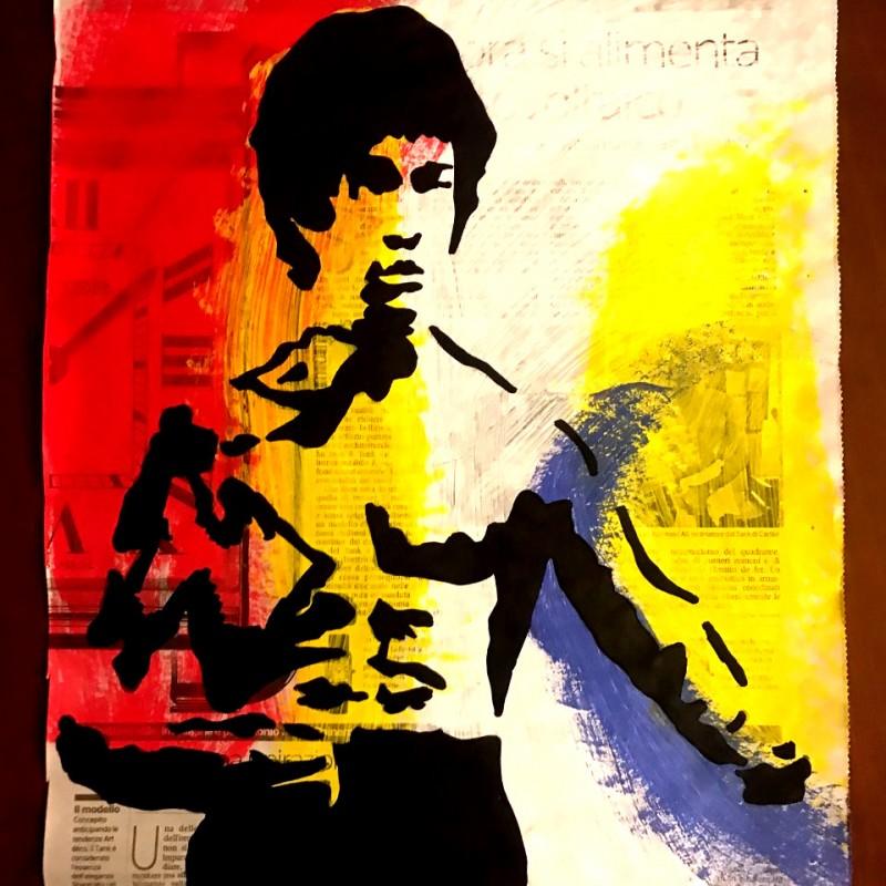"""""""Bruce Lee"""" Original Board by RikPen - Riccardo Penati"""
