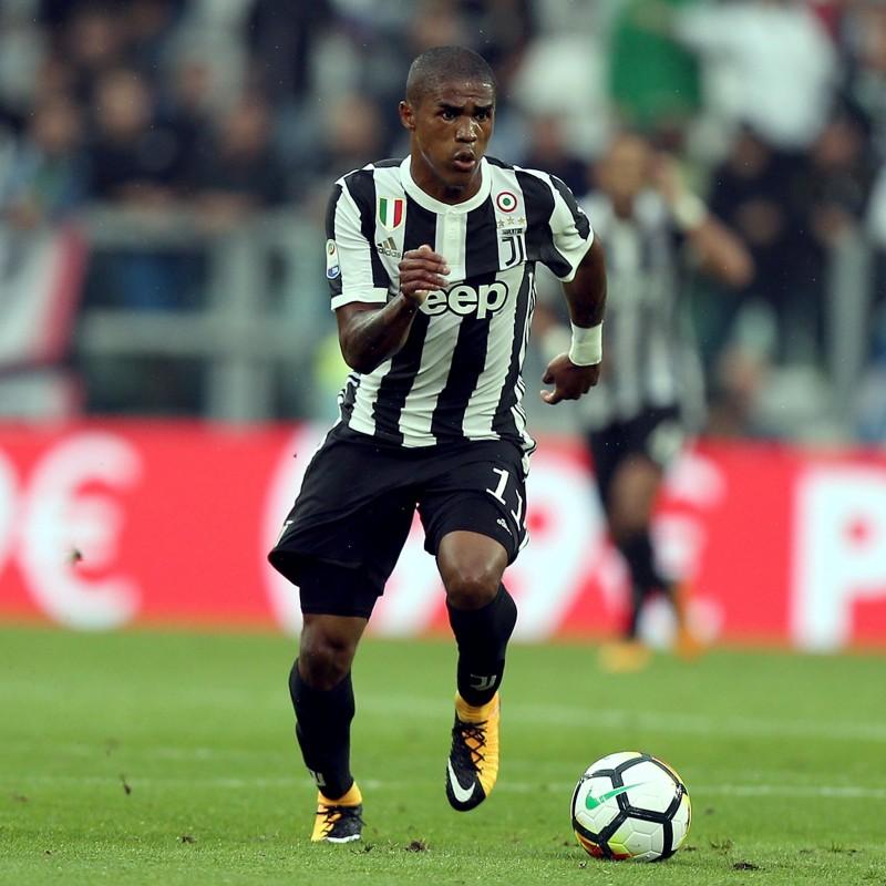 Douglas Costa's Official Juventus 2017/18 Signed Shirt