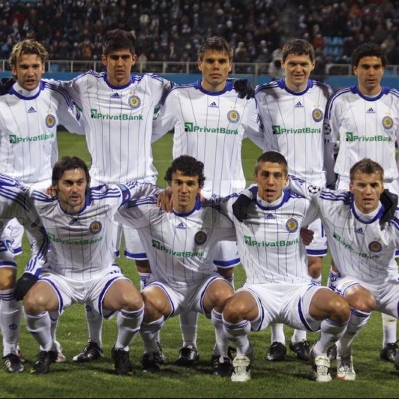 Maglia Garmash preparata Inter-Dinamo Kiev 2009