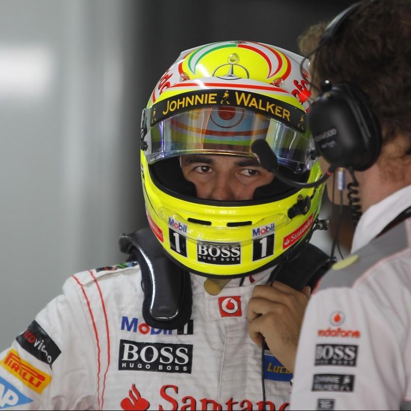 Official McLaren Cap Signed by Sergio Perez
