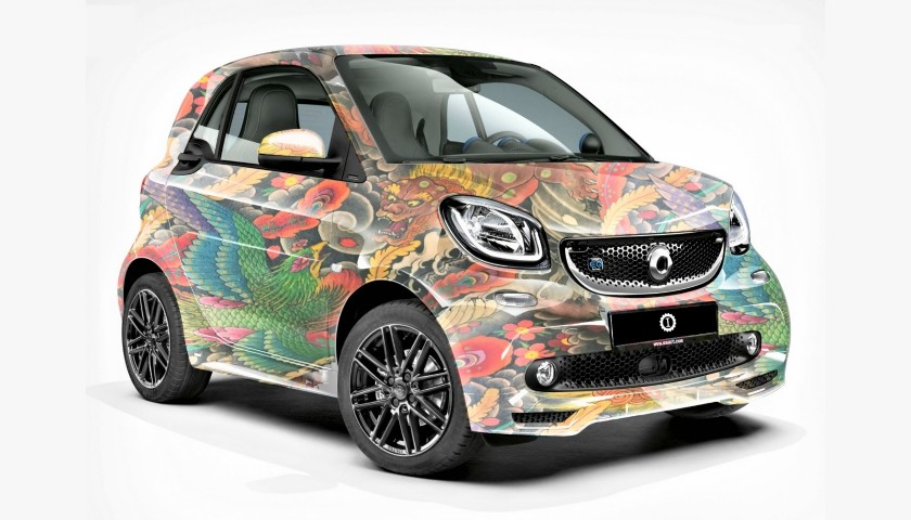Smart EQ fortwo Personalized by Lapo Elkann
