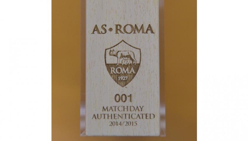 Maglia De Rossi indossata Roma-Hellas Verona 17/18