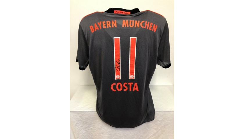 Costa's Official Bayern Munich Signed Shirt, 2016/17
