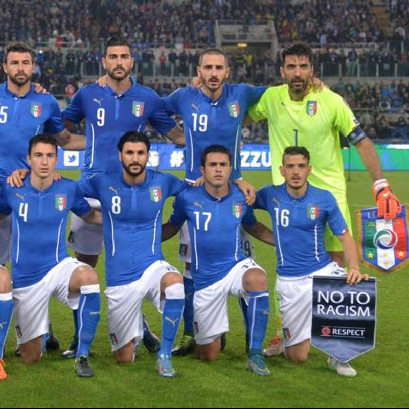 Padelli's Match Shirt, Italy-Norway 2015
