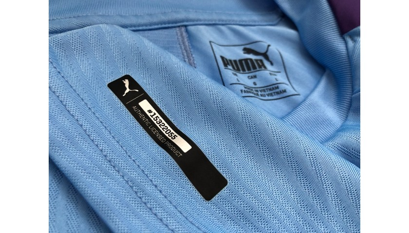 Sane's Authentic Manchester City Signed Shirt, 2019/20