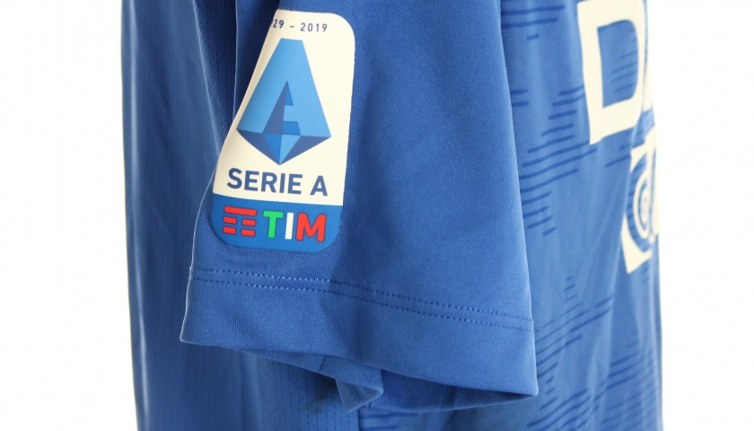 Musso's Special Worn Shirt, Udinese Calcio -SPAL