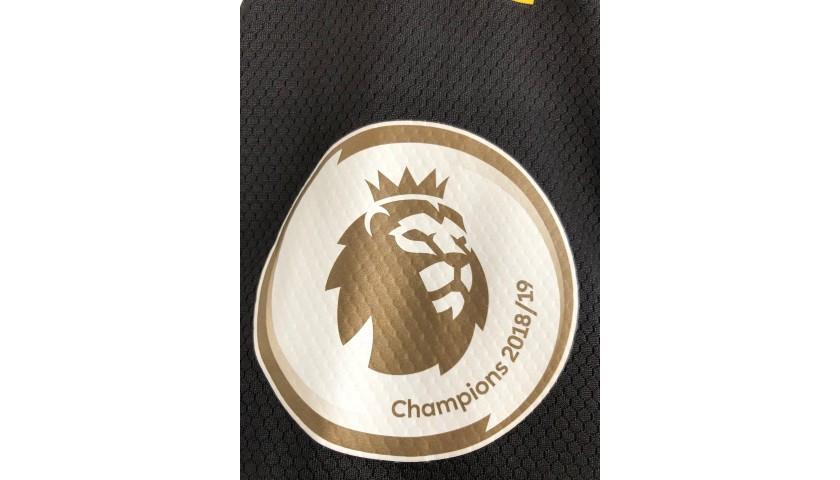 De Bruyne's Worn and Signed Shirt, Tottenham-Man City 2020