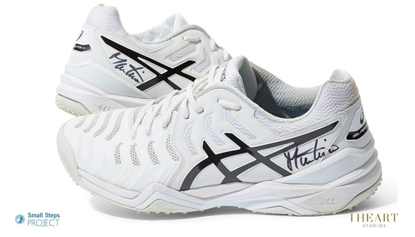 Martina Navratilova Signed Shoes