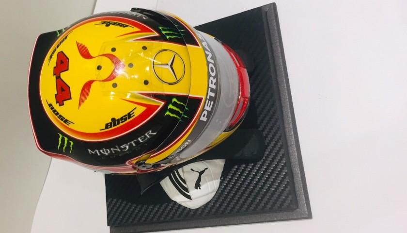 Lewis Hamilton Signed Replica Helmet