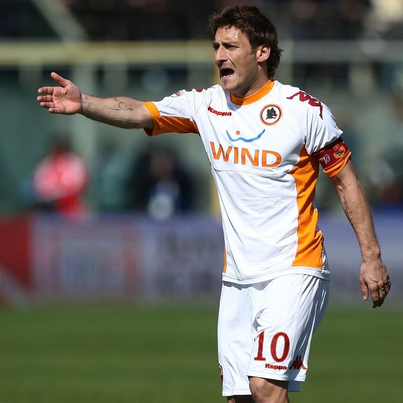 Totti's Roma Signed Match Armband, 2010/11