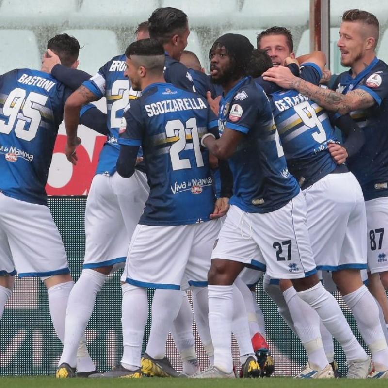 "Inglese's ""Blucrociata"" Match-Issue Shirt, Parma-Sampdoria 2019"