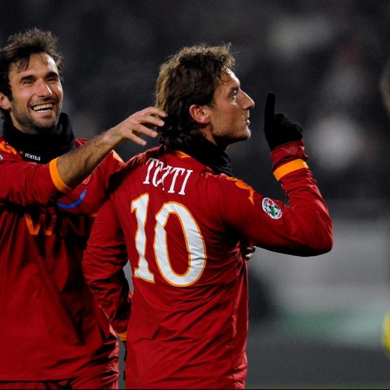 Totti's Roma Signed Match Shirt, 2009/10