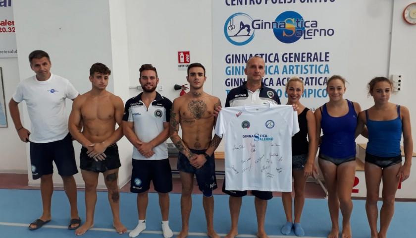 Gymnastics Salerno Signed Shirt