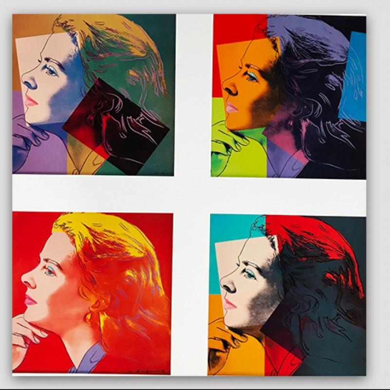 """Portraits of Ingrid Bergman"" by Andy Warhol"