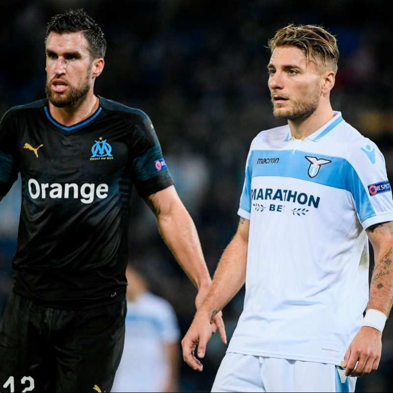 Immobile's Match Shirt, Lazio-Marseille 2018