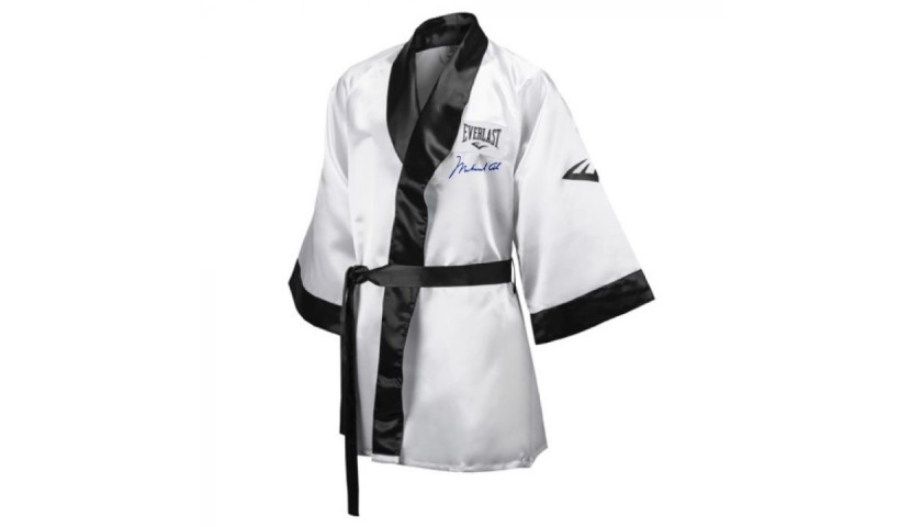 Muhammad Ali Boxing Robe with Digital Autograph