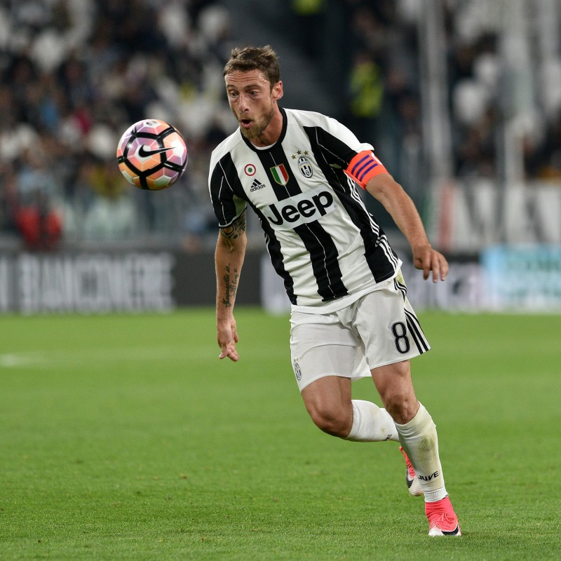 Marchisio's Worn Juventus Serie A 2016/17 Shorts