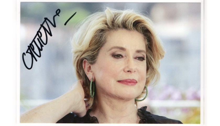 Catherine Deneuve Signed Photograph
