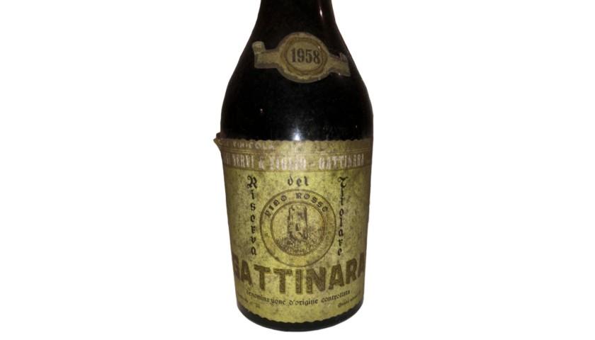 Bottle of Gattinara, 1958 - Luigi Nervi & Figlio