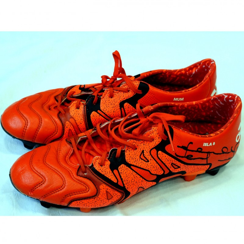 Adidas Signed Boots Worn by Frank Lampard