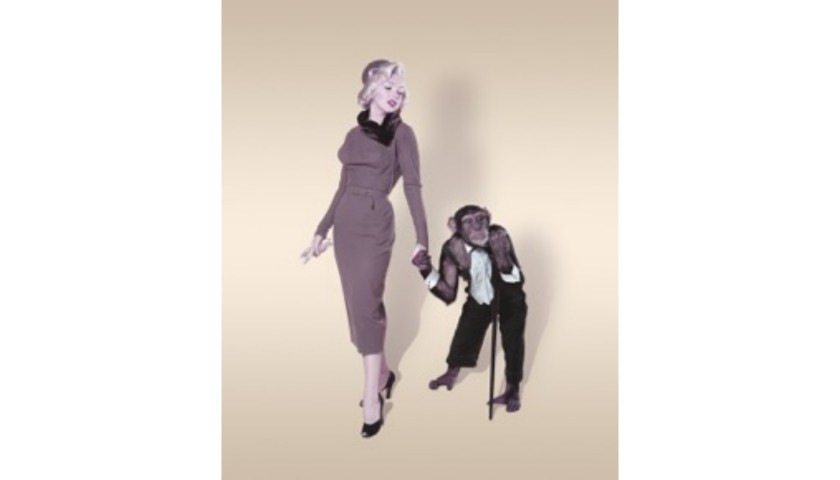 """""""Marilyn and a Chimp"""" by John Florea"""
