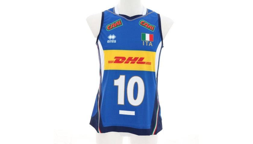 Italvolley Official Vest, 2019 - Signed by Chirichella