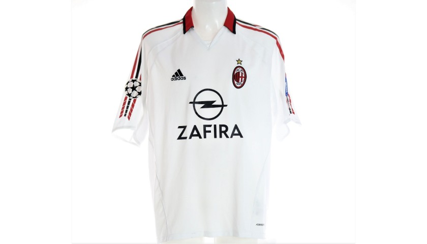 Seedorf's Milan Match Shirt, UCL 2005/06