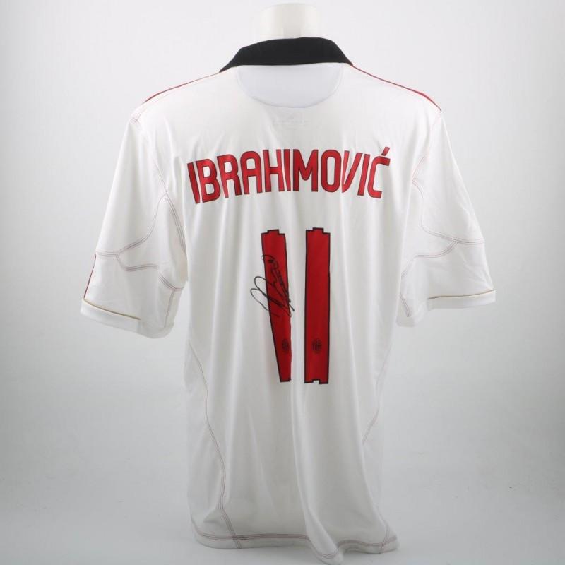 Official Ibrahimovic Milan shirt, season 10/11 - signed