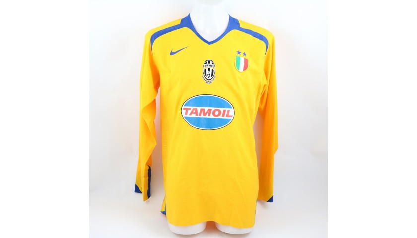 Nedved's Juventus Match Shirt, TIM Cup 2005/06