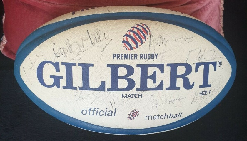 England Rugby World Cup Winners 2003 Squad Signed Ball