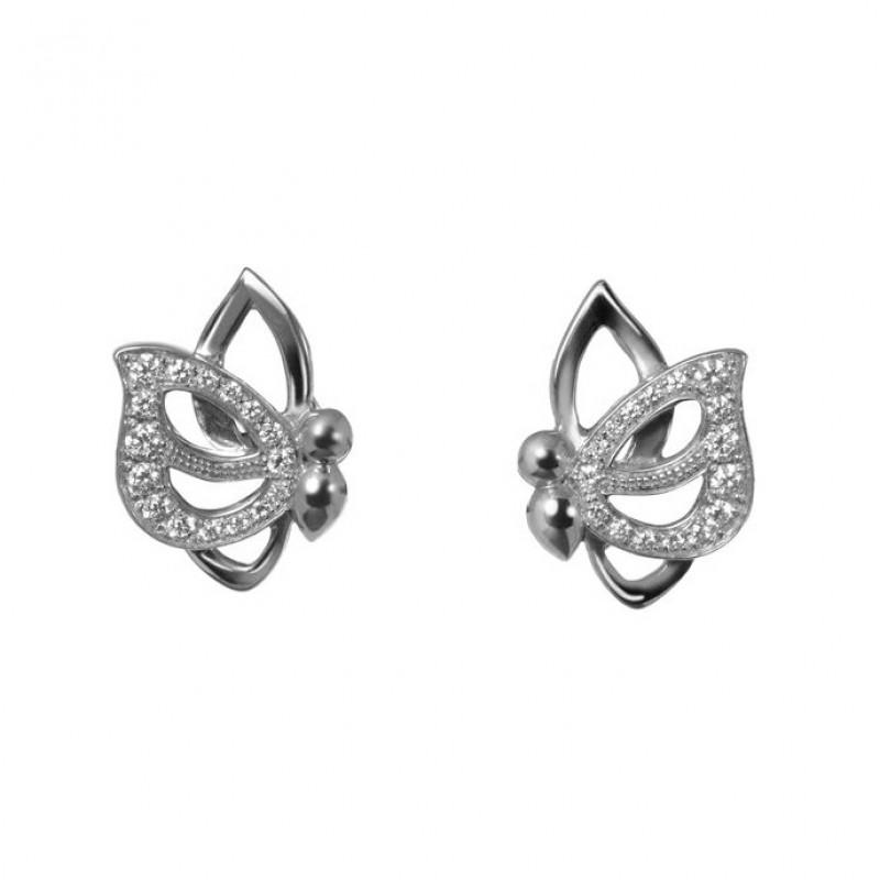 """Vola Via"" Earrings by Vanessa Martinelli"
