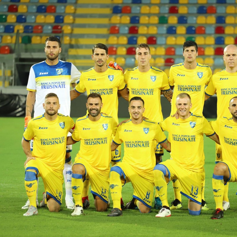 Iacobucci's Frosinone Match Shirt, 2018/19